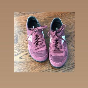 Saucony Maroon Sneakers
